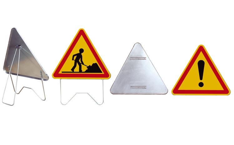 panneaux acier signalisation temporaire chantier route autoroute arcadias. Black Bedroom Furniture Sets. Home Design Ideas